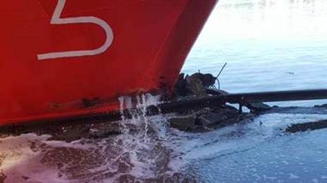 Detención por Autoridad Portuaria Daños a Instalaciones